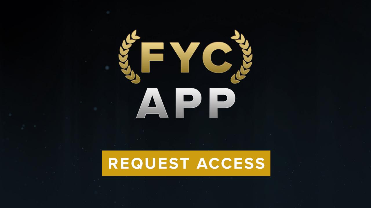 FYC App: Request Access